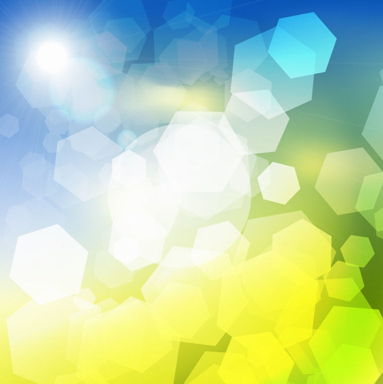 Abstract Blue Green Light Vector Background Free Vector Eps10