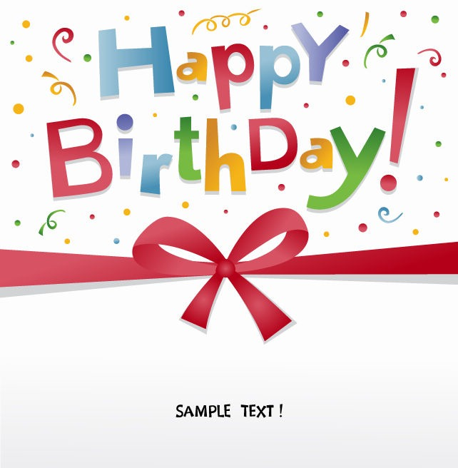 Happy birthday greeting card vector free vector eps10 happy birthday greeting card vector bookmarktalkfo Gallery