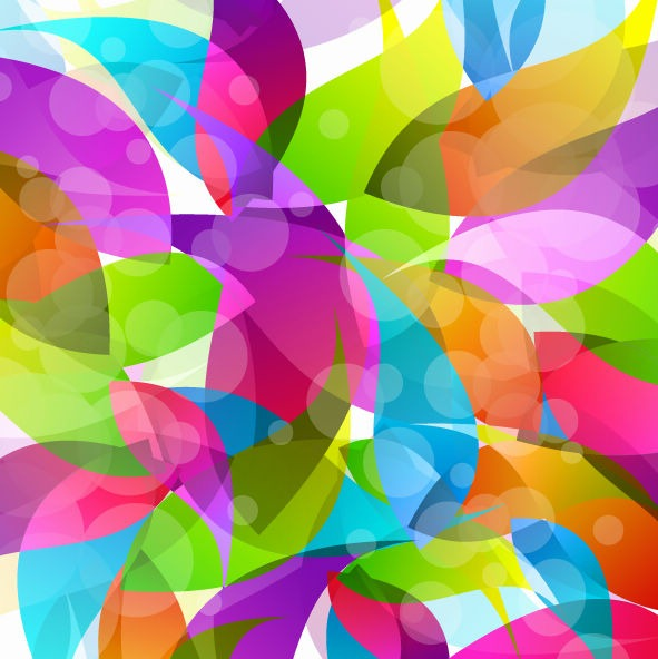 Colorful Abstract Design Vector Illustration Free Vector