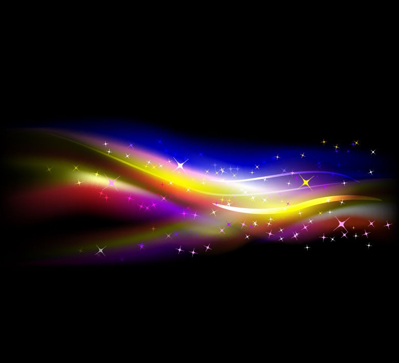 Abstract Colorful Wave Bright Background | Free Vector | EPS10