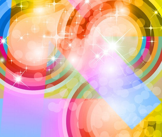 Colorful Abstract Vector Graphic