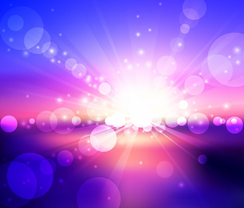 vector blurry lights background free vector eps10