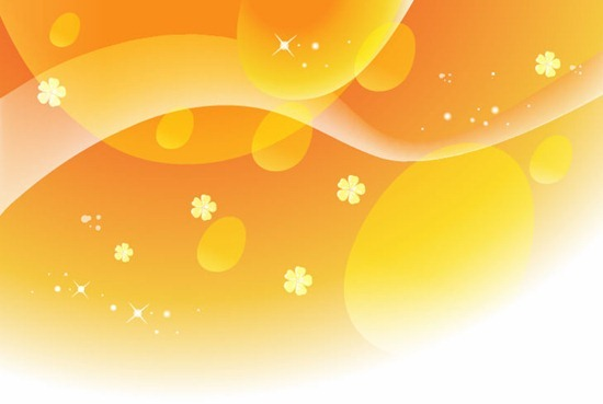 Vector Abstract Yellow Background
