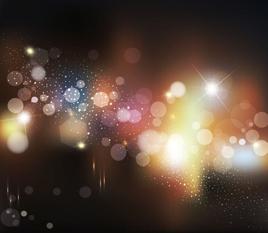 Vector Abstract Lighting Background