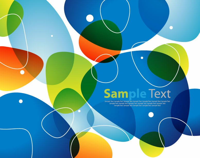 Color Abstract Vector Background Text Frame Stock Vector: Free Vector Graphics, Premium EPS Vectors, Stock